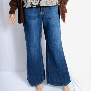 Nine West Jeans - Flare Mid Wash Denim Blue Jeans